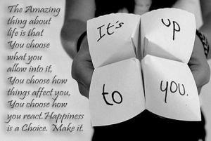 בחירה ואושר